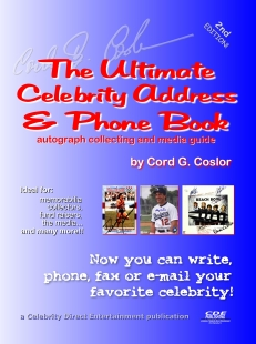 the ultimate celebrity address phone book